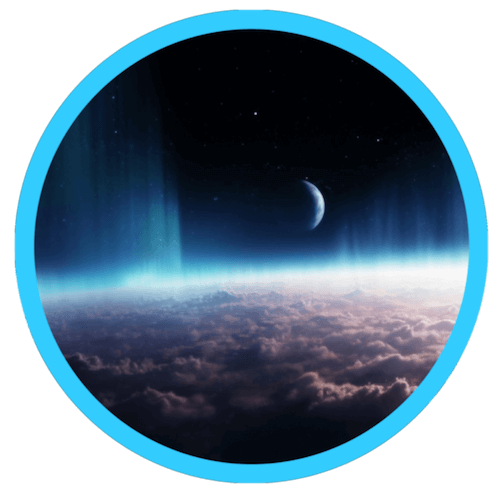Inside vr space