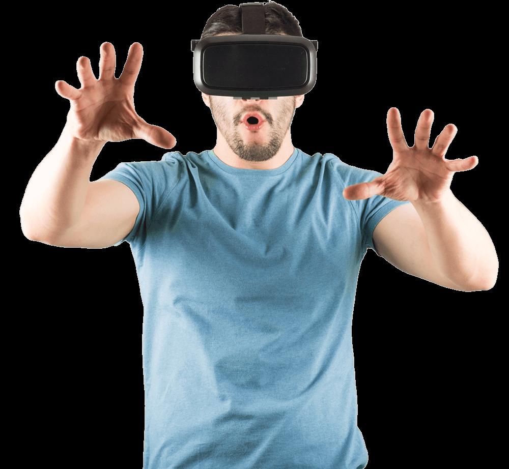 Inside VR GUY BLUE