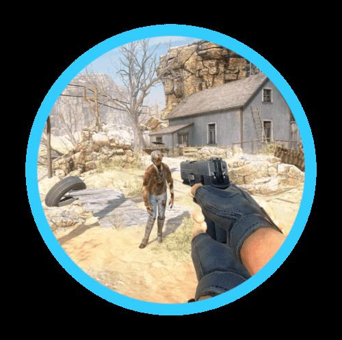 Inside VR Zombie